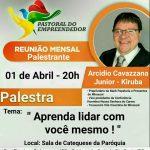 REUNIÃO MENSAL – PASTORAL DO EMPREENDEDOR