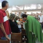 Acolhimento nas Missas