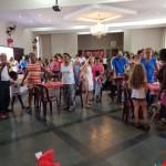 Almoço de Natal dos vicentinos às famílias assistidas da Paróquia Menino Jesus de Praga