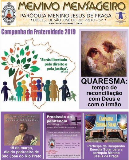 Jornal Menino Mensageiro Março 2019