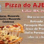 Pizza do AJEC – Retirada 04/05/19