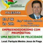 Palestra Empreendedorismo 03/06/2019