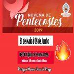Novena de Pentecoste de 31 de Maio a 8 de Junho