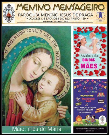 Jornal Menino Mensageiro Edição Maio 2019