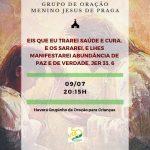 Grupo de Oração Terça-feira 09/07 às 20hs