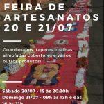 Feira de Artesanatos 20 e 21/07/2019