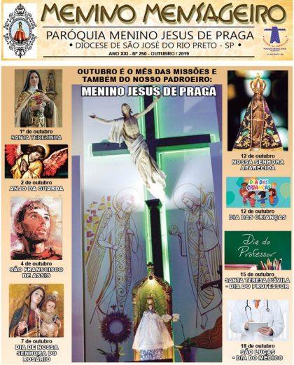 Jornal Menino Mensageiro Edição Outubro 2019