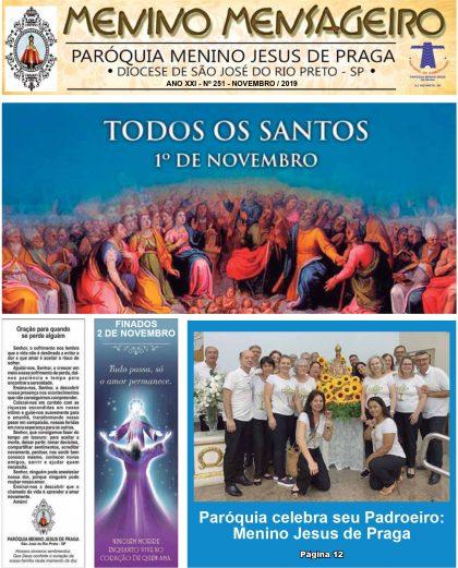 Jornal Menino Mensageiro Edição Novembro 2019