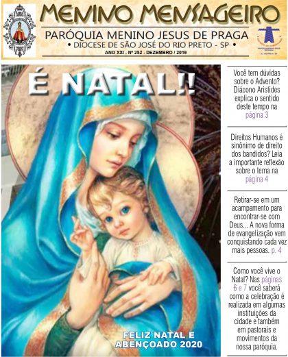 Jornal Menino Mensageiro Edição Dezembro 2019