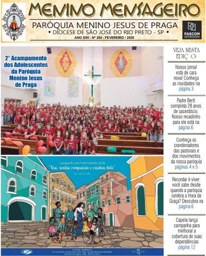 Jornal Menino Mensageiro Edição Fevereiro 2020
