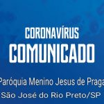 Comunicado sobre Coronavírus
