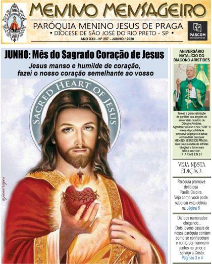 Jornal Menino Mensageiro Edição Junho 2020