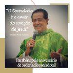 Pe Silvio completa 42 anos de ordenação